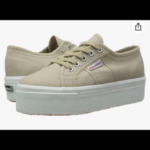 Superga beige sneakers